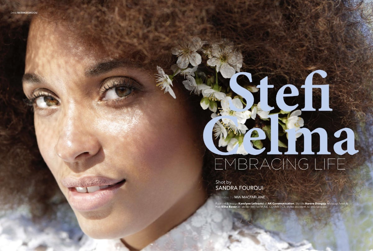 Irk Magazine Stefi Celma Elika Bavar Hair Stlyling Make Up 1