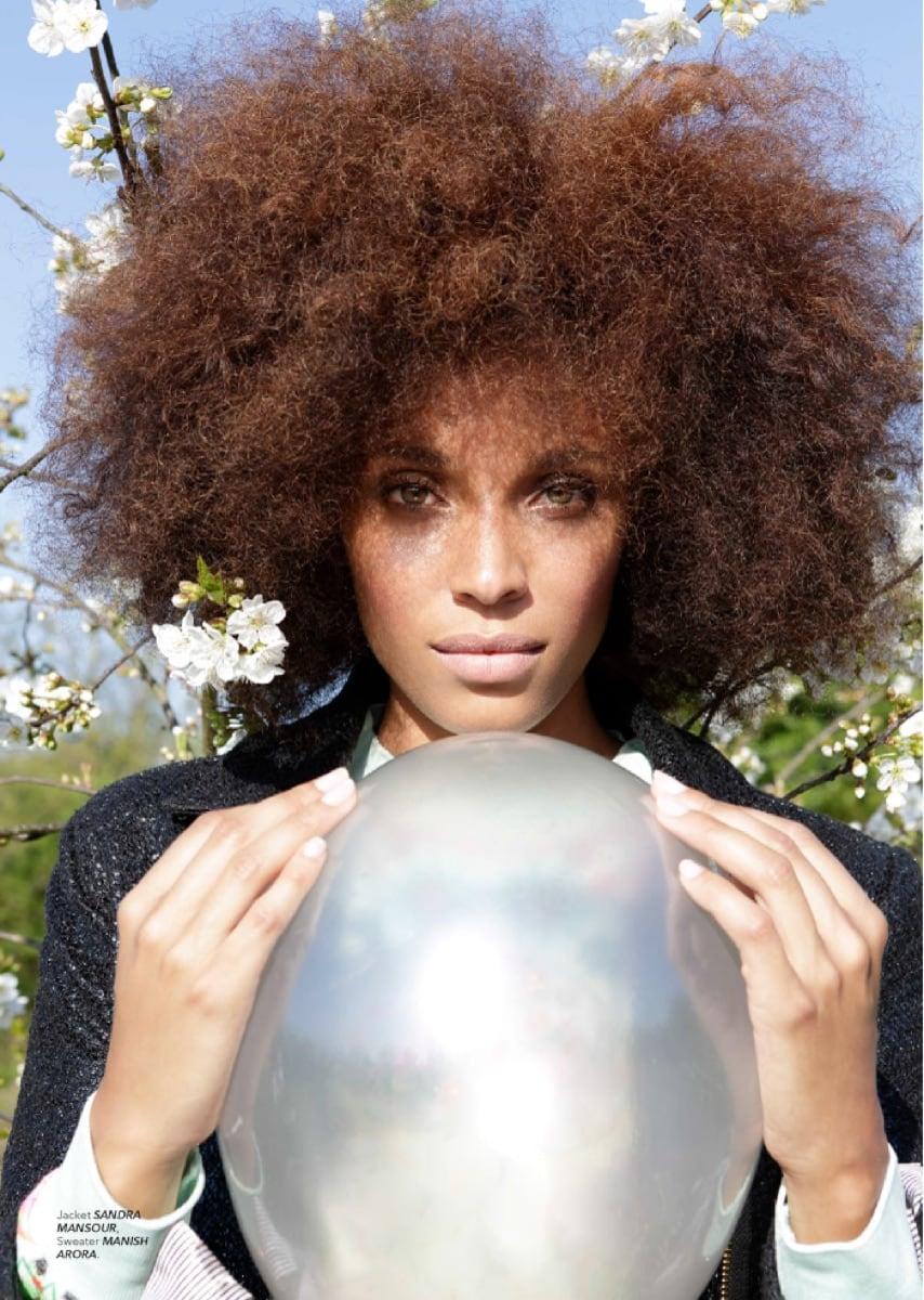 Irk Magazine Stefi Celma Elika Bavar Hair Stlyling Make Up 2