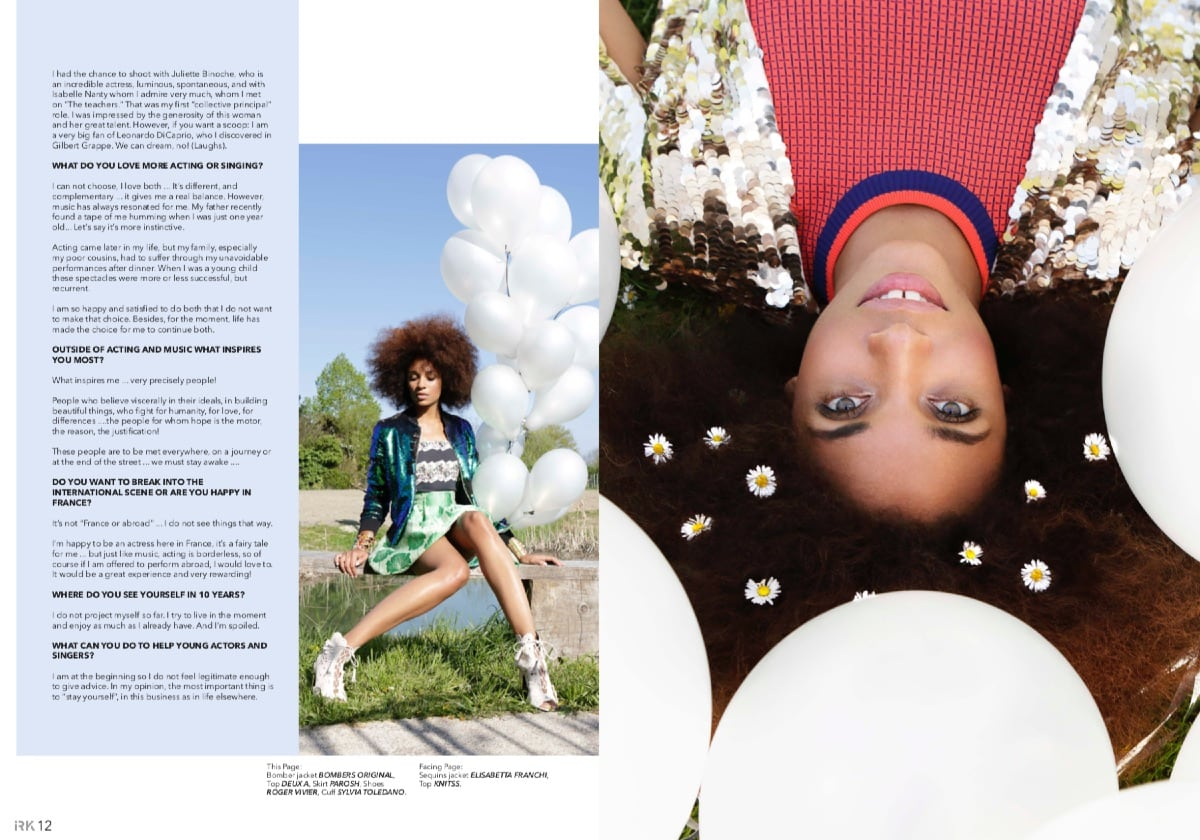 Irk Magazine Stefi Celma Elika Bavar Hair Stlyling Make Up 6