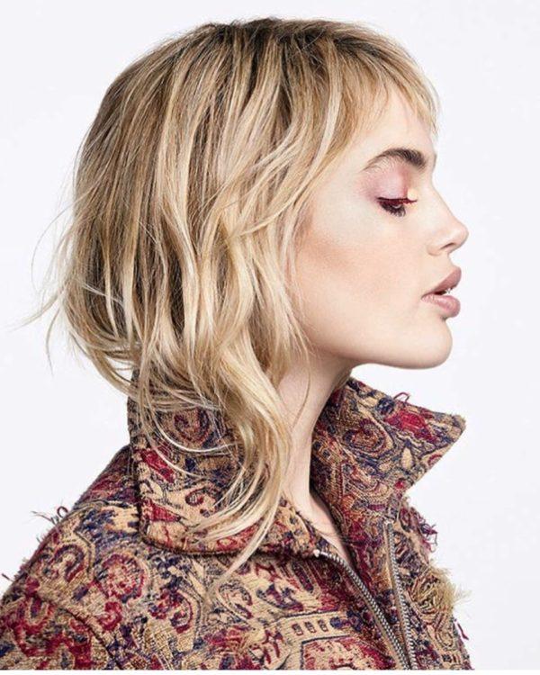 Yves Saint Laurent Hair Style Elika Bavar 01