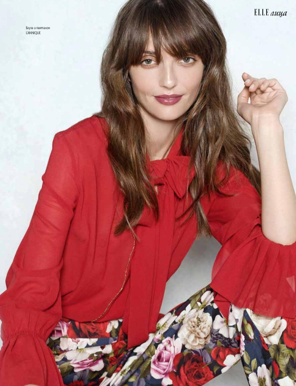 Elle Bulgaria Anne Zesiger Elika Bavar Hair Styling 3