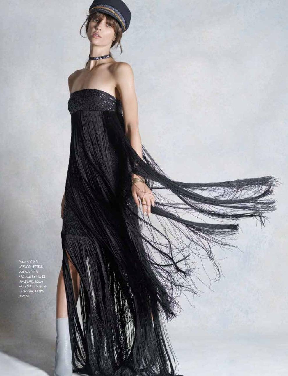 Elle Bulgaria Anne Zesiger Elika Bavar Hair Styling 4