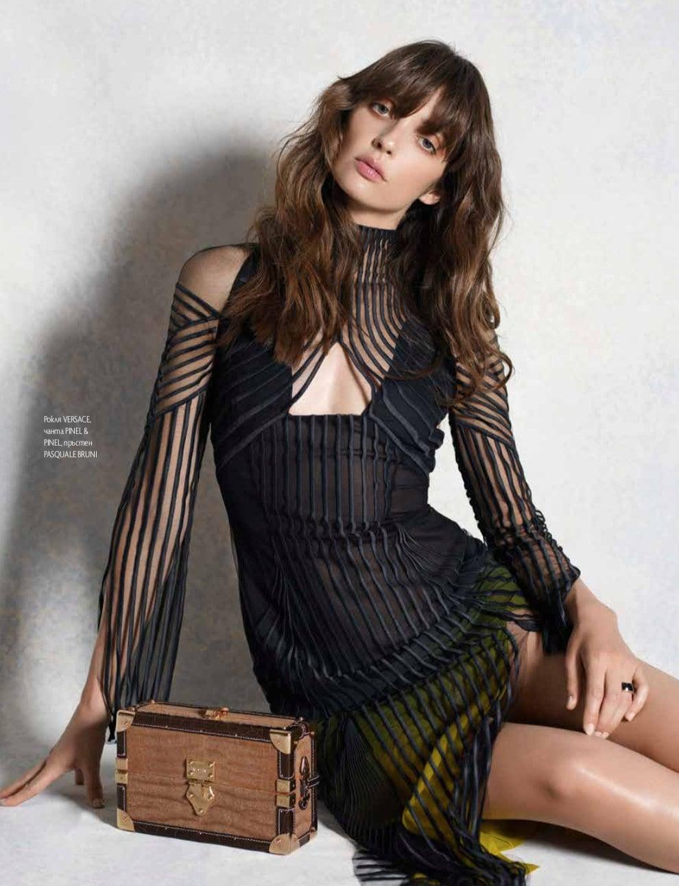 Elle Bulgaria Anne Zesiger Elika Bavar Hair Styling 6